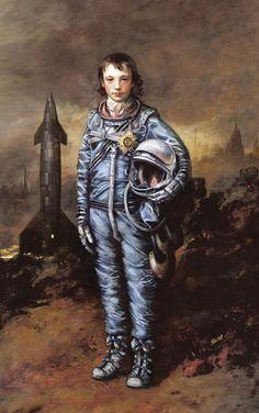 Space geek + art geek = geek chic.