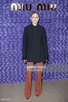 Olivia Palermo attends the Miu Miu show as part of the Paris Fashion Week Womenswear Fall/Winter 2017/2018 on March 7 2017 in Paris France