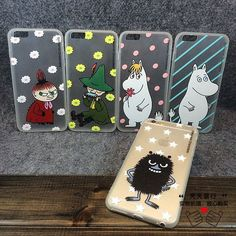 Cartoon Lovely Cute Finland Genius Tpu Hard Pc Case Cover For Iphone 5 6 6S Plus