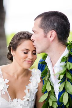 Photography: Elena Graham - www.elenagraham.com  Read More: http://www.stylemepretty.com/destination-weddings/2014/08/15/hawaii-island-destination-wedding-at-waikoloa-marriott-resort-and-spa/