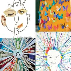 Skip the precut foam stickers and let your kids unleash their creativity! Make art not crafts for kids and stimulate their creative side!