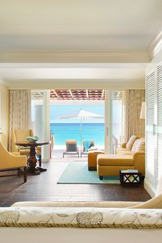 Book a Beachfront Junior Suite and enjoy a private, furnished wooden deck. #Jetsetter