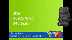 Fisher-Price Group 2-3 Befix SP Car Seat http://dealsontoys.co.uk/pre-school-nursery/fisher-price-group-2-3-befix-sp-car-seat-detail