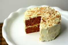 Tracey's Culinary Adventures: SMS: Carrot Cake with Orange Cream Cheese Frosting