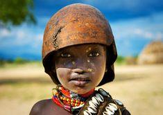Child of the arbore tribe Ethiopia