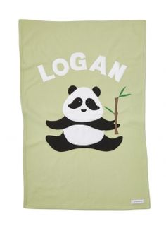 Check out this super cute #panda #baby #blanket!