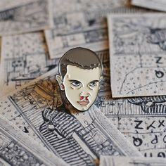 PRE ORDER Stranger Things, Enamel Pin. Eleven, Scifi, Horror, Netflix.