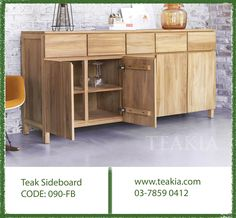 https://flic.kr/p/Cnj6XZ | teak-wood-furniture-teakfurniture-sideboard-livingroom-bedroom-diningroom-funiture-sale-promotion-teakiabukitjelutong | Teak wood sideboard, beautifully crafted from plantation teak wood in Indonesia, Simple and elegant, it perfectly matches in any dining and bedroom..For more info visit us at www.teakia.com  call us at 03-78590412 or mail us at info@teakia.com You can visit our store at No 26 Jalan kerawang U8/108 Bukit Jelutong