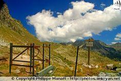 Col de Barèges - Vallée d'Aygues-Cluses (France, Midi-Pyrénées, Hautes-Pyrénées)