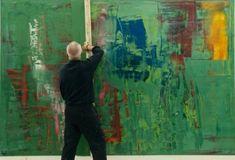 Gerhard Richter film of abstract painting. Don't miss. It's on Netflix!  AtElIEr dIA DiAiSM ACQUiRE UNDERSTANDiNG TjAnn  MOHD HATTA iSMAiL DiA ArT TraVeL TJANTeK ArT SPACE