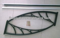 DIY economic Polycarbonate window awning for balcony patio and awning parts