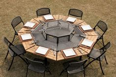 Amazing Jag Grill BBQ Table