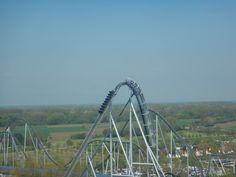 De Silverstar één van de meest spectaculaire achtbanen van Europa park. Echt super