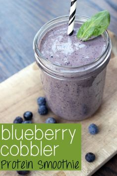 It's a breakfast! It's a dessert! No, it's a Mason jar recipe for a delicious protein smoothie! Honestly, it could be a Mason jar breakfast or a Mason jar dessert. This smoothie is both super filling & supper yummy so it's a great way to satisfy your sweet tooth & stick to your diet.