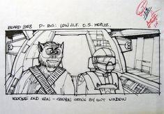 Star Wars Storyboard