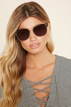 Oversized Square Sunglasses | Forever 21 - 1000202678