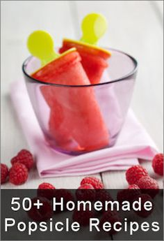 50+ homemade popsicle recipes