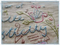 "Pattern for ""A Year of Gentle Domesticity"" - pdf download. Stitch it and join in for 2015!"