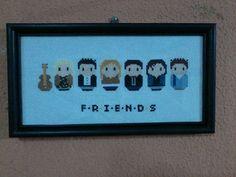 Friends finish
