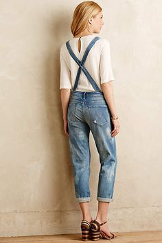 Mother Dropout Overalls - anthropologie.com