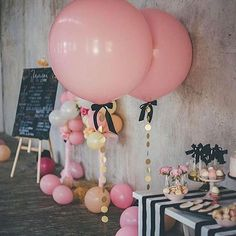 What's a party without balloons?! Shop JUMBO balloons via our online store x⁣ .⁣ PC: 100 Layer Cake⁣ .⁣ .⁣ .⁣ .⁣ #pinkjumboballoon #balloons #pink #birthday #party #events #styling #style #fashion #decor #events #partyshop #partydecor #love #cute #babyshower #bride #bridalshower #engagement #elegant #flashesofdelight #thatsdarling #instashop #afterpay #littlebooteekau⁣...