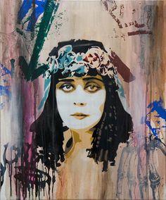 Street Artist - Btoy - Cleopatra 1