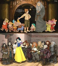 Tolkien /Disney crossover anyone?