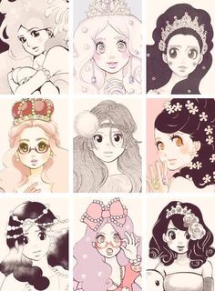 More princess jellyfish♡♡♡