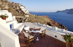 25 Amazing Hotels With Eye-Popping Views | Fodor's Esperas Santorini