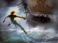 """""""Peter Pan"""" by Matt Forsyth"""