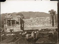Athènes, tribune de l'Erechtéion - Normand Alfred-Nicolas (1822-1909) - Arago