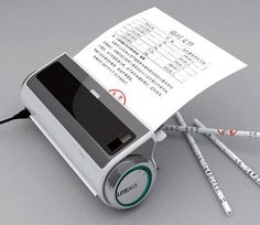 Concept machine recycles scrap paper into a pencil scrap-paper-into-a-pencil/