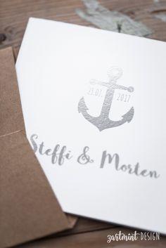 Hochzeitseinladung maritim