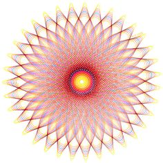 Fineliner - Sonne (1), handgezeichnet, 21x21cm - ein Designerstück von EllaZeichnet bei DaWanda