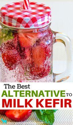 Kefir Recipe Ideas, Fermented Beverages, Probiotic Drinks, Fermented Foods,