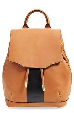rag & bone 'Mini Pilot' Leather Backpack