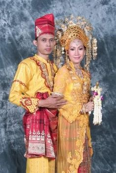 Melayu Deli wedding costume (Indonesia)