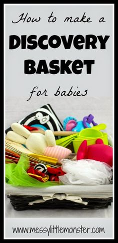 How to Make a Discovery Basket for Babies