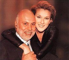 Celine Dion and her husband Rene