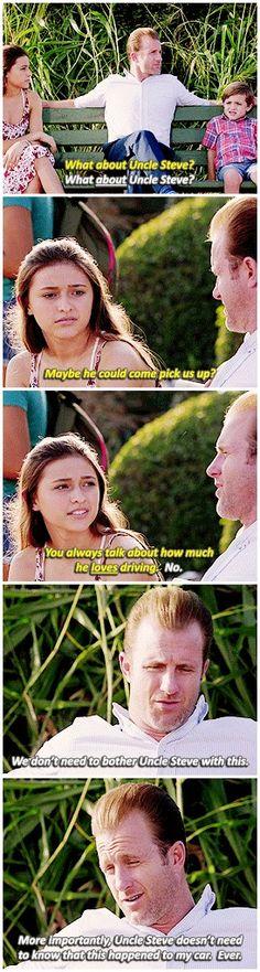 #H5O: Danno with the kids (Scott Caan/Teilor Grubbs) #Season6