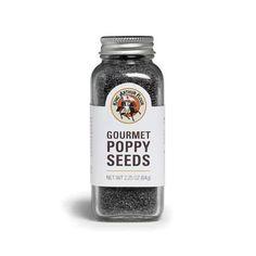 King Arthur Flour | 2.25oz Poppy Seeds  $4.95