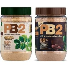 85% Less Fat and Calories PB2 Powdered Peanut Butter and Powdered Cocoa Peanut Butter