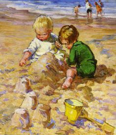 Dorothea Sharp ~ Yellow Bucket & Spade