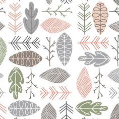 Currently available from Hawthorne Threads - Norwegian Wood - Forest Floor in Grove
