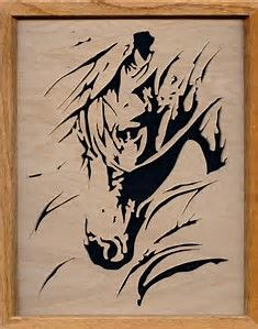 Image result for Western Scroll Saw Patterns