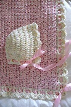 Ravelry: buttercup11's 0055A - Tiramisu Baby Blanket