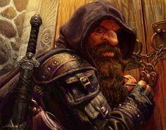 Fantasy Warrior, Fantasy Dwarf, Fantasy Art Men, Fantasy Concept Art, Fantasy Races, Fantasy Rpg, Medieval Fantasy, Fantasy Artwork, Dark Fantasy