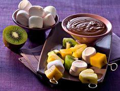 Fondue au chocolat surprise