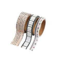 "Vintage Washi Tape Set  Each roll includes 16 ft of tape. (3 rolls per unit) 3/8"", 1/2"" 3/4"" - http://www.orientaltrading.com/vintage-washi-tape-set-a2-13606800.fltr?prodCatId=553583"