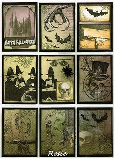 Rosie's Bastelwelt - Pocket Letter - Halloween